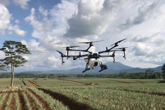 DRONE ARTIK TARIMSAL İLAÇLAMANIN HİZMETİNDE